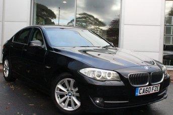 2011 BMW 5 SERIES 3.0 525D SE 4d AUTO 202 BHP £8950.00