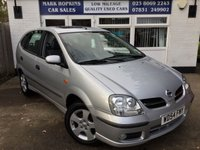 USED 2005 54 NISSAN ALMERA 1.8 TINO SE 5d 114 BHP 26K FSH 1LOCAL OWNER CLIMATE + SUNROOF REAR CAMERA EXC CONDITION