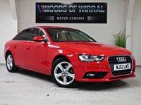 2012 AUDI A4 2.0 TDI SE TECHNIK 4d 141 BHP £7980.00