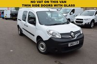 USED 2014 64 RENAULT KANGOO MAXI 1.5 LL21 CORE DCI 1d 90 BHP A low mileage Renault Kangoo DCi in very nice condition and no VAT, complete with spare key. Ready to go to work.