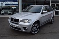 USED 2012 12 BMW X5 3.0 XDRIVE30D M SPORT 5d AUTO 241 BHP FINANCE TODAY WITH NO DEPOSIT