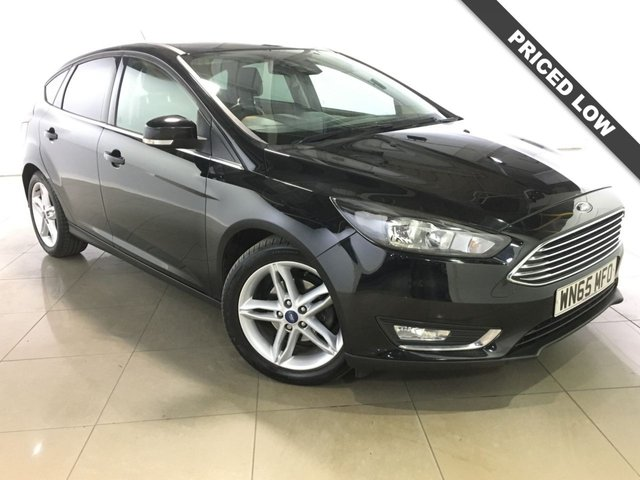 View our 2015 65 FORD FOCUS 1.5 TITANIUM NAV TDCI 5d 118 BHP