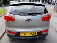 USED 2015 65 KIA SPORTAGE 2.0 CRDI KX-3 5d 134 BHP ++1 OWNER FROM NEW COMES WITH A FULL KIA SERVICE RECORD++