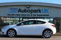 2014 VAUXHALL ASTRA 1.4 GTC SPORT S/S 3d 118 BHP £6395.00