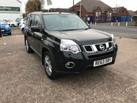 USED 2013 63 NISSAN X-TRAIL 2.0 TEKNA DCI 5d 171 BHP 1 OWNER-FULL DEALER HISTORY-SAT NAV -LEATHER-PANROOF-BLUETOOTH-PARK CAMERA-HEATED SEATS