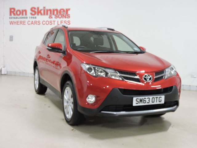 View our 2014 63 TOYOTA RAV-4 2.2 D-4D INVINCIBLE 5d 150 BHP