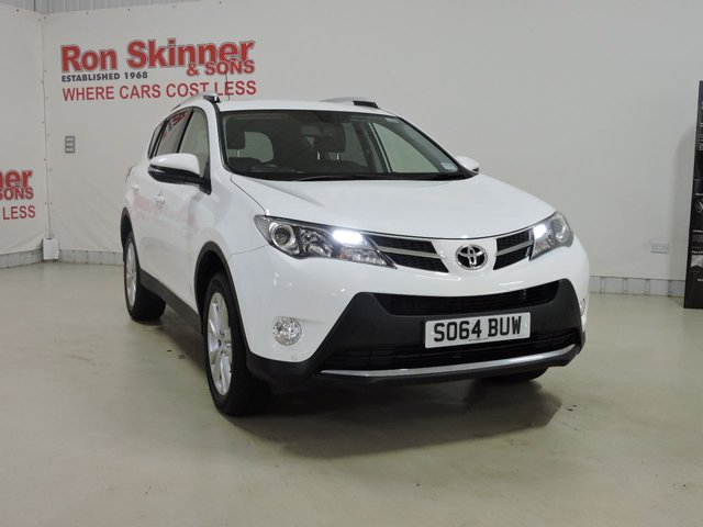 View our 2014 64 TOYOTA RAV-4 2.0 D-4D INVINCIBLE AWD 5d 124 BHP