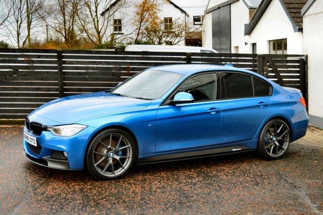 2015 65 BMW 3 SERIES 2.0 320D M SPORT PLUS 4d AUTO 181 BHP