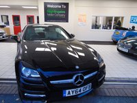 USED 2014 64 MERCEDES-BENZ SLK 2.1 SLK250 CDI BLUEEFFICIENCY AMG SPORT 2d 204 BHP