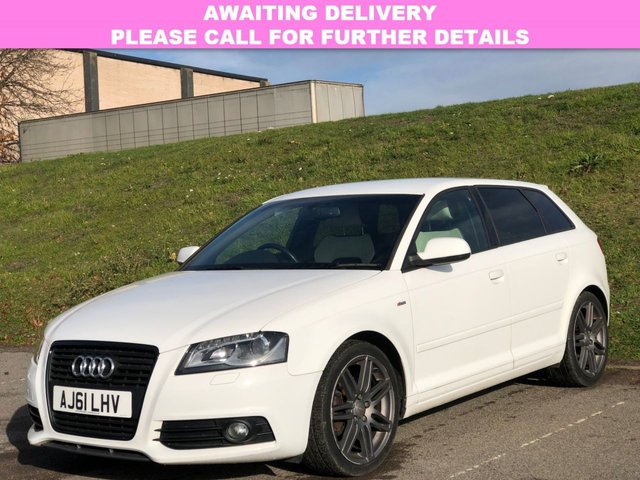 View our 2012 61 AUDI A3 1.6 TDI S LINE 5d 103 BHP
