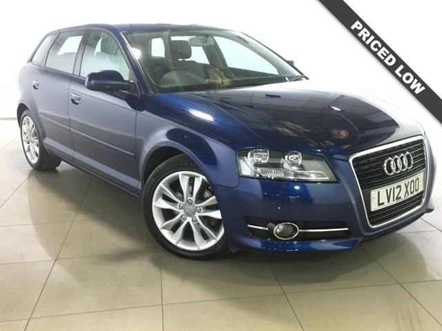View our 2012 12 AUDI A3 1.8 TFSI SPORT 5d 158 BHP