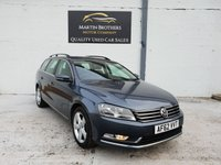 USED 2012 62 VOLKSWAGEN PASSAT 2.0 SE TDI BLUEMOTION TECHNOLOGY 5d 139 BHP