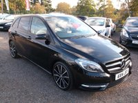 USED 2014 14 MERCEDES-BENZ B CLASS 1.8 B200 CDI BLUEEFFICIENCY SPORT 5d AUTO 136 BHP DIESEL / AUTOMATIC, GREAT SPEC, EXCELLENT SERVICE HISTORY, DRIVES SUPERBLY, GREAT M.P.G !!