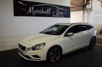 USED 2012 12 VOLVO V60 2.0 D3 R-DESIGN 5d 161 BHP LOVELY CONDITION IN BEST COLOUR - 8 STAMPS TO 74K MILES - ONE PREVIOUS KEEPER