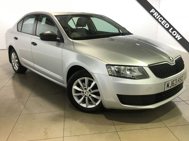 View our 2013 63 SKODA OCTAVIA 1.6 S TDI CR 5d 104 BHP