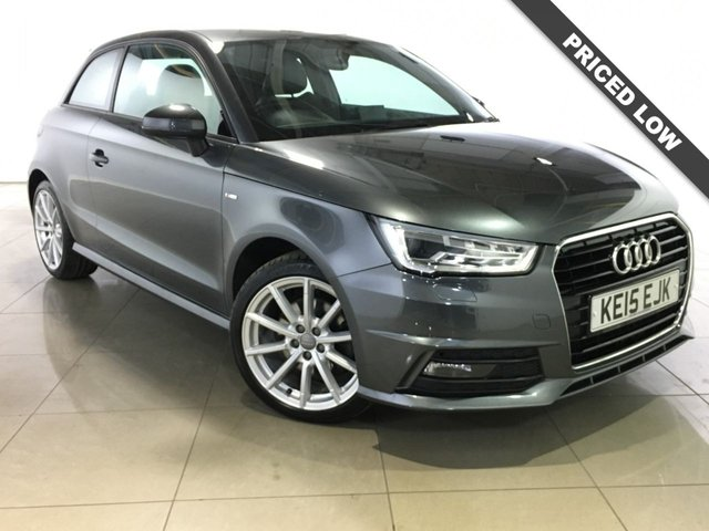 View our 2015 15 AUDI A1 1.4 TFSI S LINE 3d 123 BHP