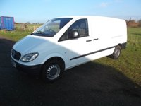 USED 2008 08 MERCEDES-BENZ VITO Vito 115 Extra Long wheel base 115 , Rare Van, Rear Racking