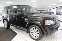2012 LAND ROVER DISCOVERY 4 3.0 SDV6 HSE AUTO 255 BHP £22450.00