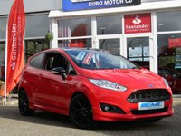2016 FORD FIESTA 1.0 ZETEC S RED EDITION 3d 139 BHP £10795.00