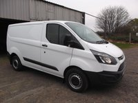 2016 FORD TRANSIT CUSTOM 2.2 290 LR P/V 5d 124 BHP, Air Con, Heated seats, Single passenger seat £10999.00
