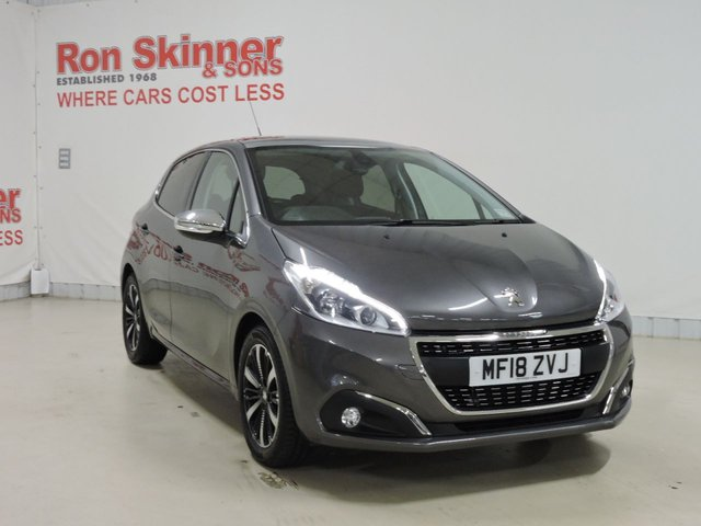 View our 2018 18 PEUGEOT 208 1.2 PURETECH ALLURE PREMIUM 5d 82 BHP