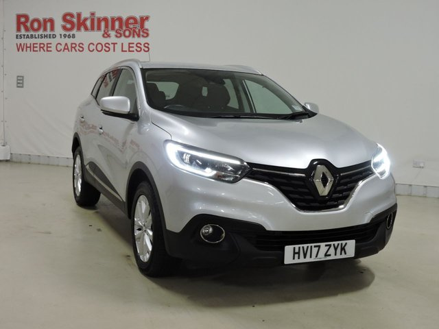View our 2017 17 RENAULT KADJAR 1.5 DYNAMIQUE NAV DCI 5d 110 BHP