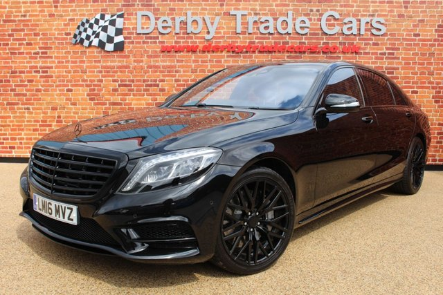 MERCEDES-BENZ S CLASS at Derby Trade Cars