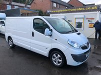 2014 VAUXHALL VIVARO 2.0 CDTI, 115 BHP, LONG WHEEL BASE, SPORTIVE, AIR CON, ELECTRIC WINDOWS   BLUE TOOTH  FULL YEARS ,MOT JUST DONE AND SERVICE  £7500.00