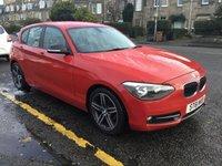 2012 BMW 1 SERIES 1.6 116I SPORT 5d 135 BHP £7300.00