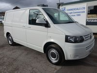 USED 2013 13 VOLKSWAGEN TRANSPORTER 2.0 T28 TDI BLUEMOTION TECHNOLOGY, 84 BHP, FULL VW SERVICE HISTORY