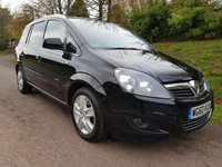 USED 2011 60 VAUXHALL ZAFIRA 1.6 ENERGY 5d 113 BHP **SUPERB DRIVE**2 OWNERS**GREAT CONDITION**