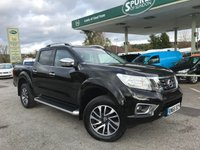USED 2016 66 NISSAN NAVARA 2.3 DCI TEKNA 4X4 SHR DCB 1d AUTO 190 BHP Automatic, Heated Seats, Lovely Low Mileage , Top Spec.