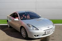 USED 2006 06 TOYOTA CELICA 1.8 RED VVT-I 3d 140 BHP SPECIAL RED EDITION. LOW MILEAGE, MANY EXTRAS.FINANCE ME TODAY-UK DELIVERY POSSIBLE