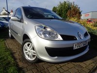 USED 2007 07 RENAULT CLIO 1.1 RIP CURL 16V 3d 75 BHP **Ideal 1st Car Full Service History 10 Stamps 12 Months Mot**