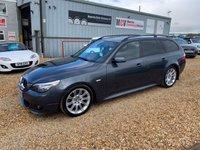 2008 BMW 5 SERIES 3.0 525D M SPORT TOURING 5d AUTO 195 BHP £5490.00