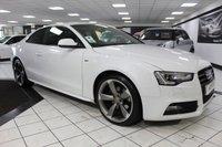 2014 AUDI A5 2.0 TDI S LINE BLACK EDITION 177 BHP £14950.00