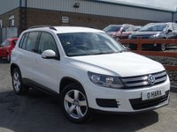 USED 2011 11 VOLKSWAGEN TIGUAN 2.0TDI BlueMotion Tech 4 Motion ZERO DEPOSIT FINANCE AVAILABLE