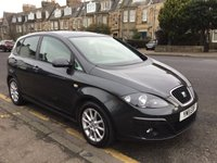 USED 2011 11 SEAT ALTEA 1.6 SE ECOMOTIVE CR TDI 5d 103 BHP OUR  PRICE INCLUDES A 6 MONTH AA WARRANTY DEALER CARE EXTENDED GUARANTEE, 1 YEARS MOT AND A OIL & FILTERS SERVICE.     6 MONTHS FREE BREAKDOWN COVER.     CALL US NOW FOR MORE INFORMATION OR TO BOOK A TEST DRIVE ON 01315387070 !! !!  LIKE AND SHARE OUR FACEBOOK PAGE !!
