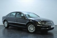 2011 VOLKSWAGEN PHAETON 3.0 V6 TDI 4MOTION SWB 4d AUTO 237 BHP £9795.00