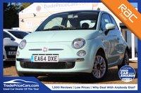 USED 2015 64 FIAT 500 1.2 LOUNGE 3d 69 BHP