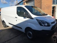 USED 2015 15 FORD TRANSIT CUSTOM 2.2 310 LR P/V 1d 124 BHP