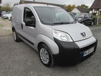USED 2010 60 PEUGEOT BIPPER 1.4 HDI PROFESSIONAL 5DR AIRCON CD