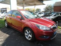USED 2008 58 FORD FOCUS 1.8 ZETEC TDCI 3d 115 BHP  10 SERVICE STAMPS