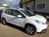 USED 2016 16 PEUGEOT 2008 1.2 PURE TECH ACTIVE 5d 82 BHP
