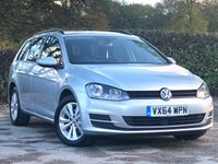 2014 VOLKSWAGEN GOLF 2.0 SE TDI BLUEMOTION TECHNOLOGY 5d 148 BHP £9500.00