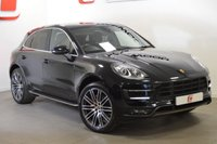 USED 2014 64 PORSCHE MACAN 3.6 TURBO PDK 5d AUTO 400 BHP LOW MILES + PAN ROOF + SAT NAV + FINANCE AVAILABLE
