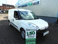 2014 VAUXHALL COMBO 1.2 2000 L1H1 CDTI  90 BHP 1 OWNER FROM NEW FULL SERVICE HISTORY  £5695.00