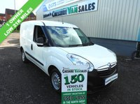USED 2014 64 VAUXHALL COMBO 1.2 2000 L1H1 CDTI  90 BHP 1 OWNER FROM NEW FULL SERVICE HISTORY  LOW 23000 WARRANTED MILES, FSH