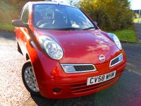 2008 NISSAN MICRA 1.2 VISIA 3d 65 BHP ** ONE OWNER , FSH 9 STAMPS , 2 KEYS , YES ONLY 47K, OUTSTANDING VEHICLE ** £2995.00