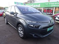 USED 2014 64 CITROEN C4 PICASSO 1.6 HDI VTR PLUS 5d 91 BHP **01543 877320..**JUST ARRIVED..**SERVICE HISTORY**